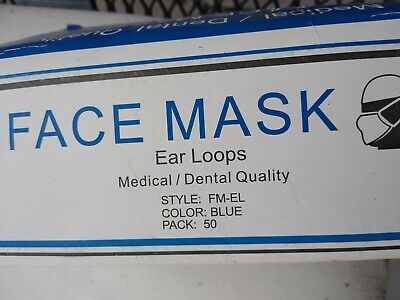 300 quantity 3-Ply Medical Surgical Dental Anti-Dust Earloop Face Masks