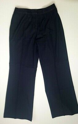 Petite Sophisticate Women's Navy Size 10 Career/Business Pants 26 in inseam