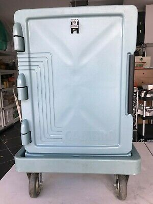 Cambro UPCS400401 Ultra Pan Carrier® S-Series Slate Blue w/ Dolly