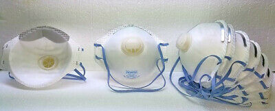 NIOSH N95 Approved Mask PARTICULATE  RESPIRATORS UNIVERSAL SIZE 100 pcs *NOS