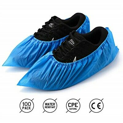 Shoe Covers Disposable -100 Pack(50 Pairs)Disposable Shoe & Boot Covers