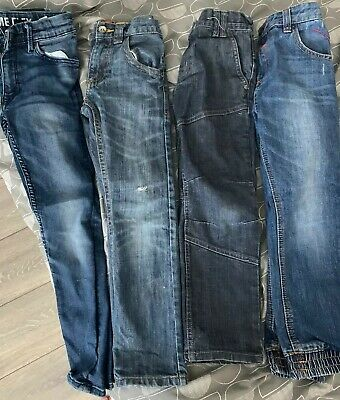 Boys bundle of 4 jeans  Age 6-7 Years very good condition
