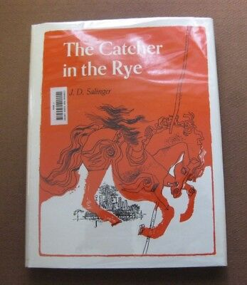 THE CATCHER IN THE RYE by J.D. Salinger - 1st 1951 -Large-type book HCDJ - RARE