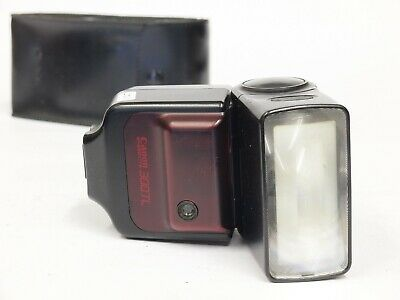 Canon Speedlite 300TL Flash for T90 Camera with Case. St No u11027