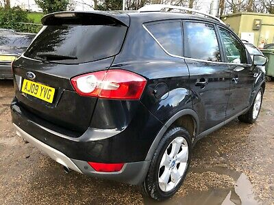 2009 Ford Kuga 2.0 Tdci 2Wd Zetec - P/Glass, Alloys, P/Sensors, Lovely