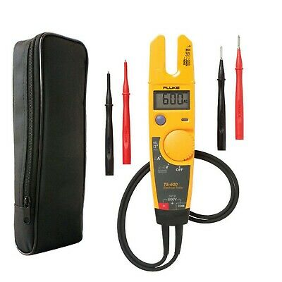 Fluke T5-600 Voltage Continuity Current Tester + Protective Carry Custodia LDMC1