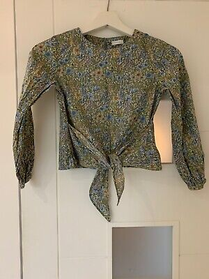 Girls Next Ditsy Floral Blouse/ Shirt Spring Top Age 9