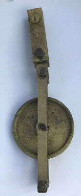 Genuine Antique  8 Day Long case Clock Pulley Regulator