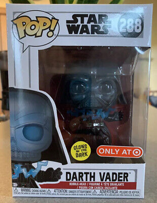 Star Wars Funko Pop GITD Darth Vader Target Exclusive