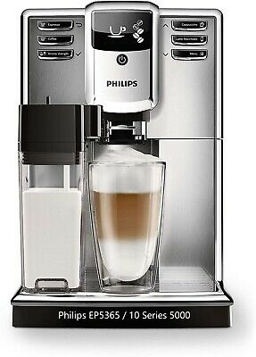 Philips EP5365 / 10 Automatic Espresso Coffee Machine LED Display & Milk Carafe