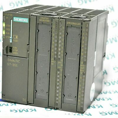 Siemens Simatic S7 300 CPU 313C DI DO AI AO 6ES7 313-5BE01-0AB0 SPS PLC MMC