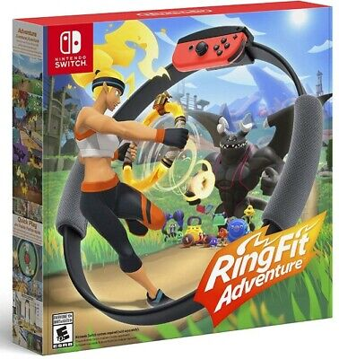 Ring Fit Adventure - Nintendo Switch BRAND NEW *Ring & Game Included*  U.S. Made