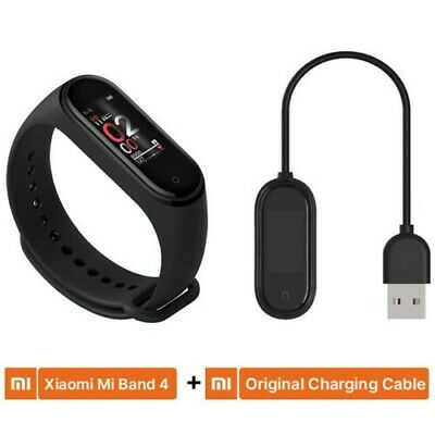 Global Version Xiaomi Mi Band 4 BT5.0 Smart Watch + Stainless Steel Strap