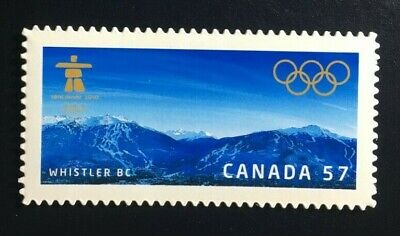 Canada #2367i Die Cut MNH, Vancouver Olympic Winter Games - Whistler Stamp 2010