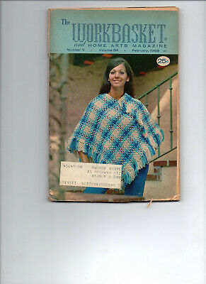 February 1969/WORKBASKET Home & Needlecraft/Preowned Booklet