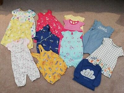 Baby girl 3-6 month summer bundle John Lewis, Next, H&M, George, F&F 13 items
