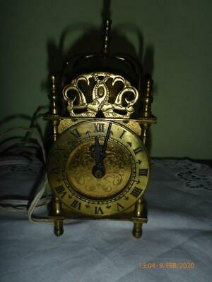 Ornate Antique Brass Carriage Clock For Restoration