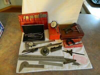 Machinist Tool Box Clean Out Lot Of Starrett,Mitutoyo, Plus
