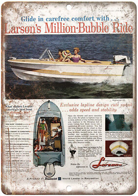 "MFG Niagara Vintage Boat Ad 10/"" x 7/"" Reproduction Metal Sign L10"