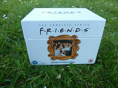 FRIENDS DVD Box Set -Series 1-10 Complete Extended Exclusive Unseen 80+hr 40xDVD