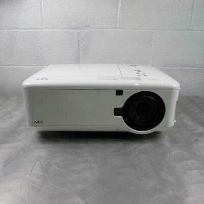 NEC LCD Home Theater Projector Model NP4100W 5500 Lumens Lamp Hours 607