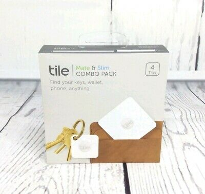 Tile Mate (2016) and Tile Slim - 4 Pack (2 x Mate, 2 x Slim)
