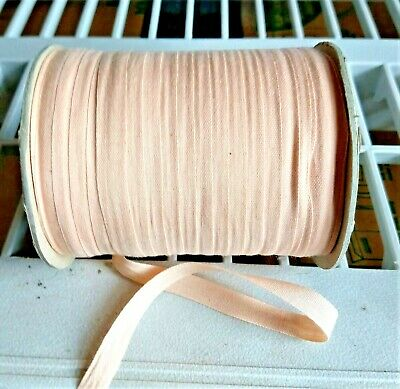 9 mm Silk Ribbon for Embroidery 110 Meter Spools~Blush Pink