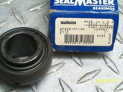 "Seal Master 2-1C Bearing Insert 1"" Bore"
