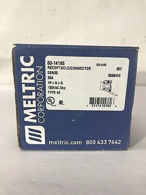 Meltric 63-14165 Receptacle Connector