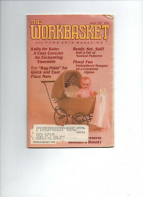 August 1986/WORKBASKET Home & Needlecraft/Preowned Booklet