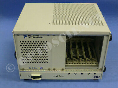National Instruments NI PXIe-1073 Chassis / 5-Slot PXIe Mainframe w/ MXI-Express