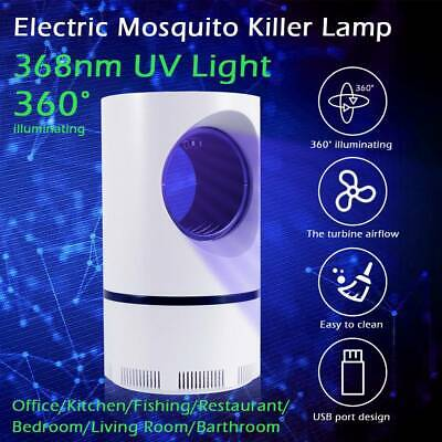 USB Mosquito Killer Lamp Light Electric UV Insect Grill Fly-Bug Catcher Zapper