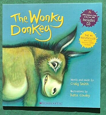 The Wonky Donkey Book With CD.  NEW.  Number 1 Bestseller. Craig Smith