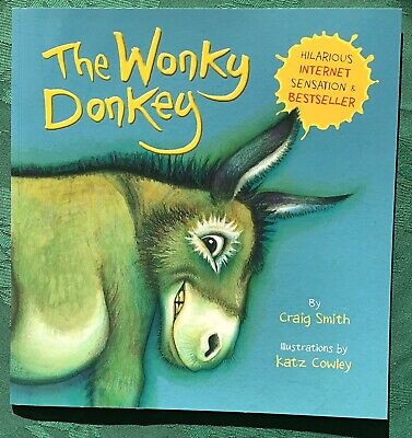The Wonky Donkey Book. No.1 Bestseller by Craig Smith. NEW. Reduced From £6.99!