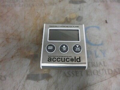 Summit Accucold Traceable Thermometer / Alarm