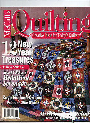 McCall's Quilting/February 2000/Preowned MAGAZINE