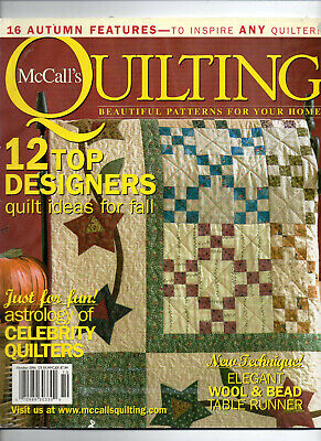 McCall's Quilting/October 2004/Preowned MAGAZINE