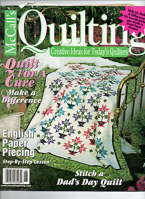 McCall's Quilting/June 2001/Preowned MAGAZINE