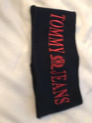 Tommy Jeans Blue And Red Headband New With Tags