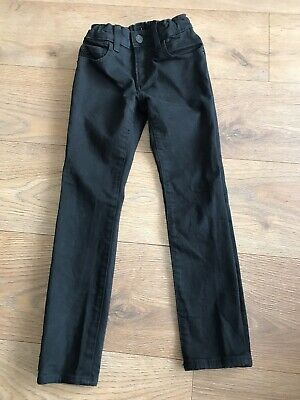 Gap boys black skinny jeans 7 years adjustable waist J220 combine p&p