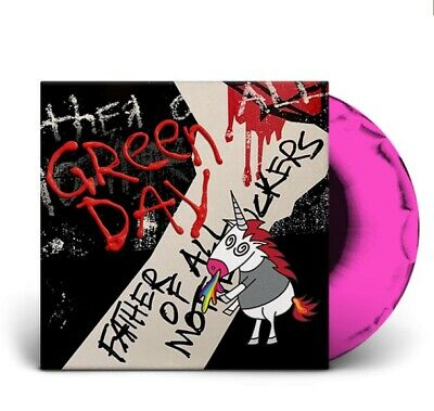 Green Day Father Of All... Limited Pink Black Lp Album Vinyl Brand New Sealed !