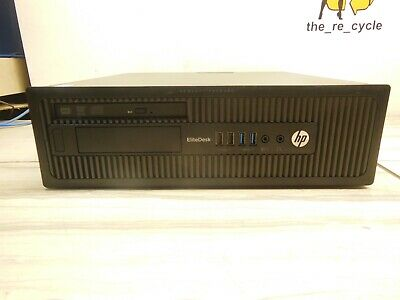 HP EliteDesk 800 G1 SFF Intel Core i7-4770 @ 3.40GHz 8GB  500GB WIN 10
