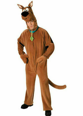 Scooby Doo Costume Mens Licensed Cartoon Halloween Fancy Dress Adult Outfit