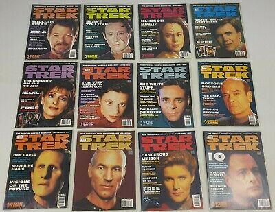 Star Trek Official Magazine Complete 1997 Bundle Issues January - December