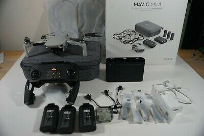 DJI Mavic Mini Fly More Combo with DJI Care Refresh 10 months left-NO RESERVE.