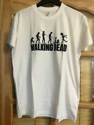 Brand New With Tags Mens Herren T-Shirt with the walking Dead on Size S