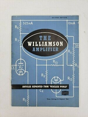 Vintage The Williamson Amplifier Second Edition Catalog Articles Tube