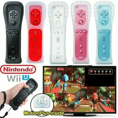 New Wiimote Built in Motion Plus Inside Remote Controller For Nintendo wii AU RK