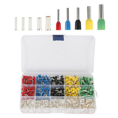 1640Pcs Copper Silver Plated Terminal Combination Set Cold Pressed Terminals TP