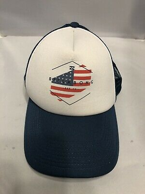 RRP $29.99. One Size NWT Authentic Men/'s BILLABONG Oxford Snap Back Cap